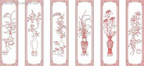 蘭花矢量圖