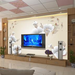 电视背景墙装饰画图片