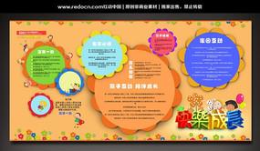 幼儿园宣传栏设计