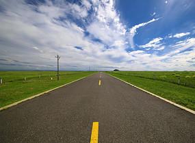 达里湖草原天路美景