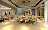 低调中的奢华餐厅设计