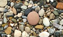 大自然的杰作 斑驳石头