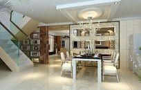 家居设计餐厅效果图设计
