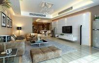 简约风格家居设计客厅效果图设计3D图片