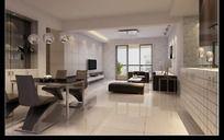 简约家居设计客厅效果图设计