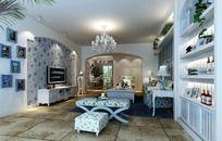 田园风格家居设计客厅效果图设计