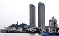城市水边风景