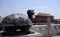 故宫乌龟雕塑