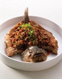盐酸菜干烧鱼