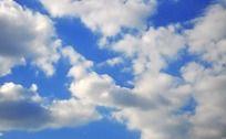 蓝天白云背景图