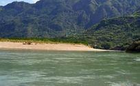 美丽楠溪江山水风景照