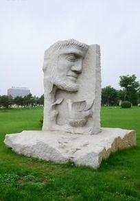大卫人物雕塑