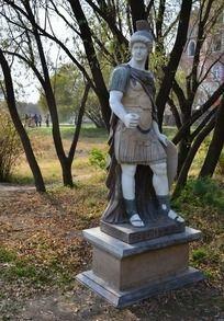 武士大卫雕塑