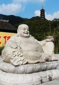 宁波天童弥勒佛佛像
