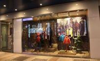 羽绒服服装品牌宣传橱窗设计