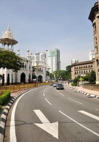吉隆坡街头