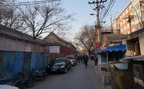 北京老胡同街景