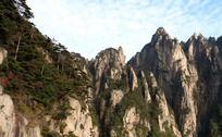 黄山奇特山脉