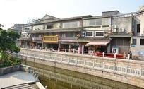 广州荔枝湾水边建筑