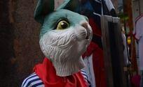 上海田子坊的小兔子