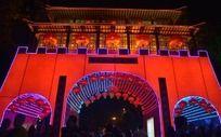 2014春节广州西湖花市夜景