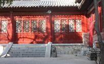 少林寺庙内景