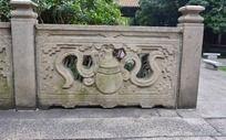 葫芦护栏石雕