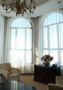 欧式风格酒店房间