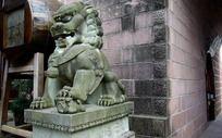 城门口石狮子
