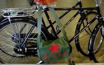 自行车军挎包