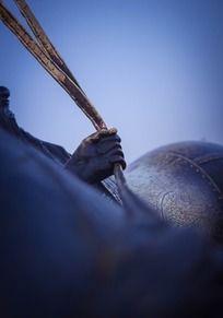 [历史印记]-- 卢沟桥马夫铜像