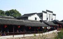 古建筑长廊