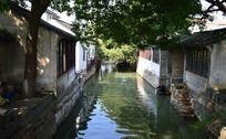 古建筑河道