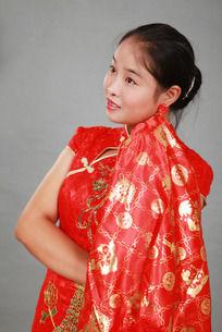 红盖头新娘