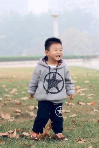 开心的儿童