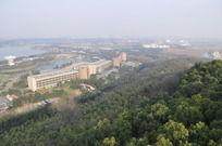松江佘山森林公园俯瞰