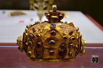鎏金镶宝石皇冠