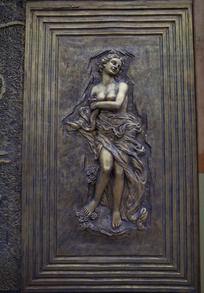 西方神话人物雕刻