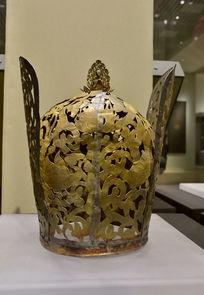 元朝蒙古族鎏金皇冠