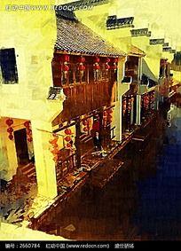 岭南印象油画