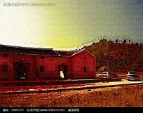 现代小村庄