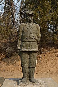 抗日英雄雕塑