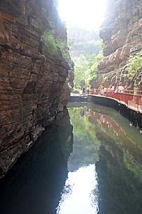 郭亮村的奇绝山水