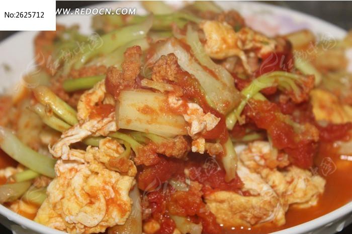 番茄炒菜花怎么做好吃图片