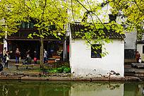 江南小镇景色