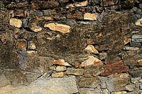 农村老房子墙上的贴图