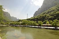 云台山子房湖
