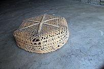 非物质文化-六角星竹筐