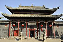 洛阳民俗博物馆建筑正面图