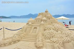 沙滩的城堡